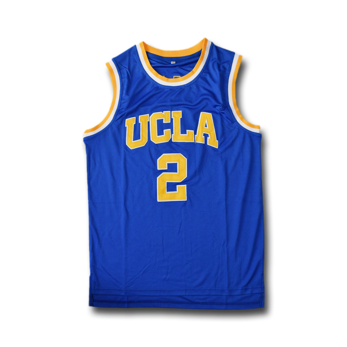 new arrival dd6a9 6d26d Ball #2 Ucla Blue Basketball Jersey
