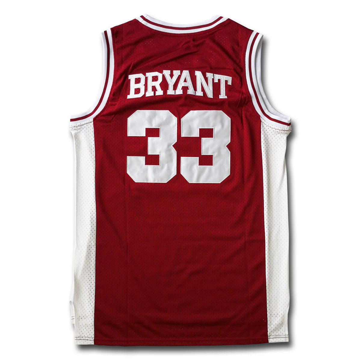 18dab0f9295 Bryant #33 Lower Merion Red Basketball Jersey