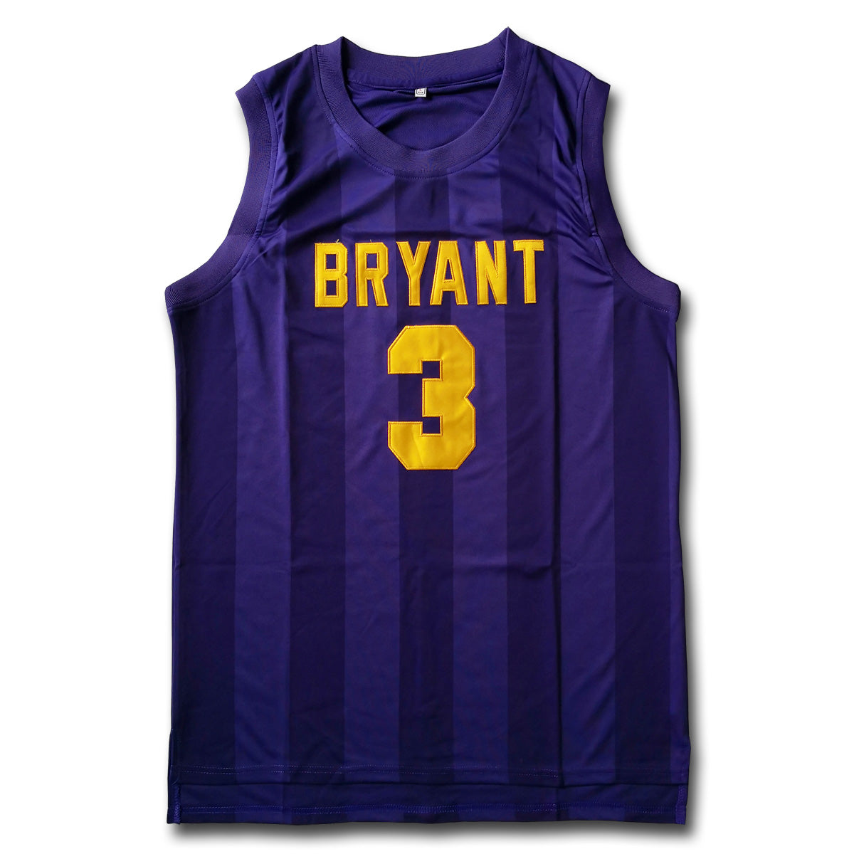 new arrivals d97c2 68008 Nelson #3 Bryant Purple Basketball Jersey