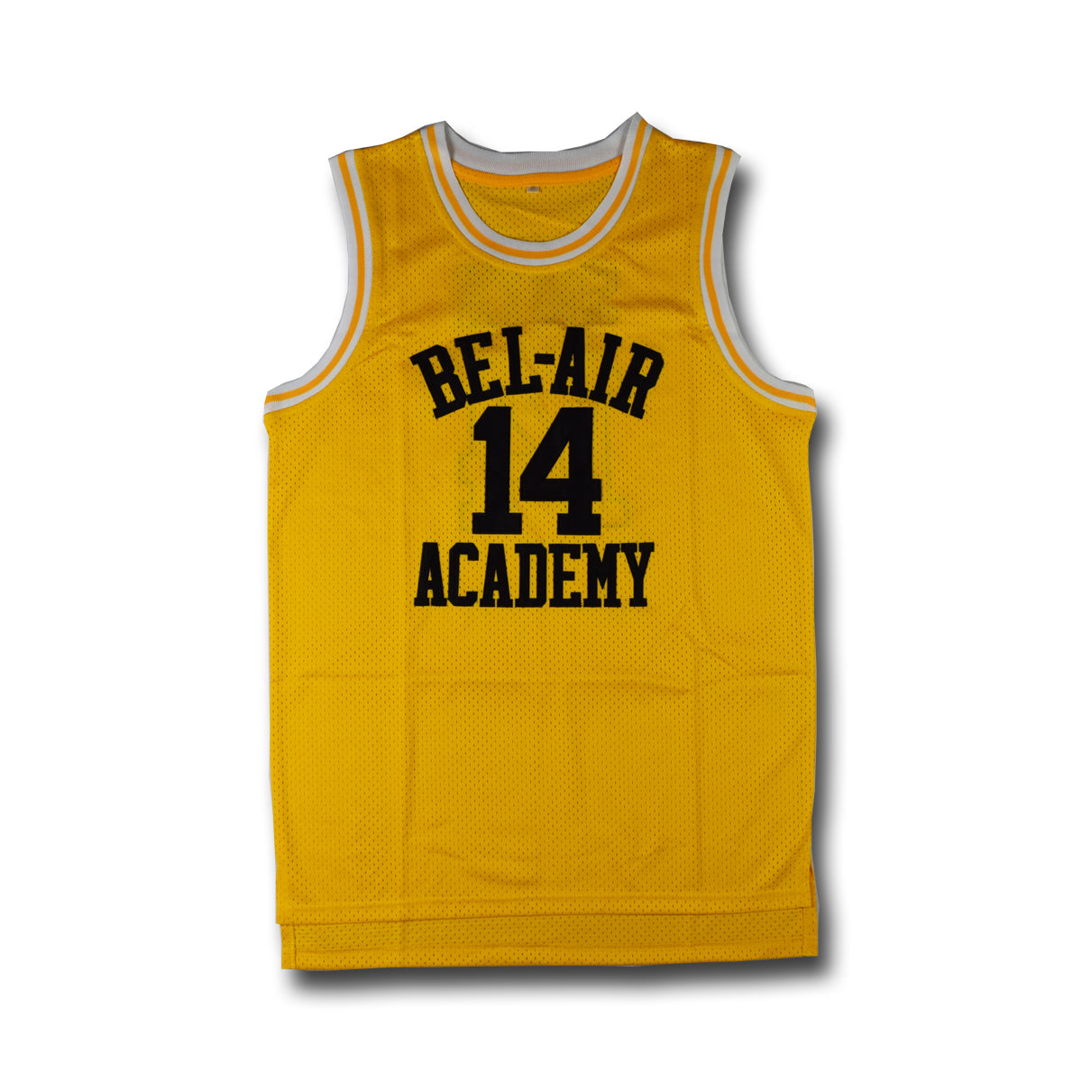 579fee60afc Men's Will Smith #14 Bel-Air Academy Yellow Basketball Jersey