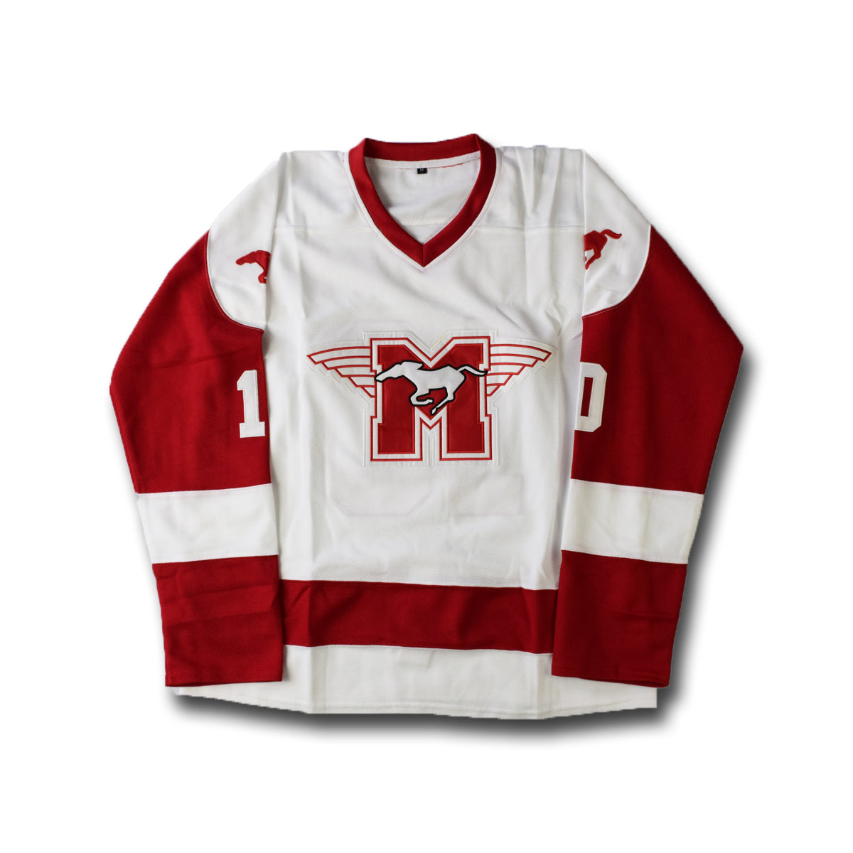 Youngblood  10 White Hockey Jersey f3adce0bd6