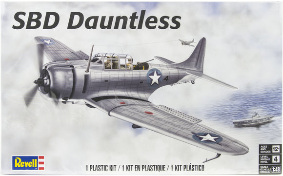Revell 1/48 SBD Dauntless Plastic Model Kit