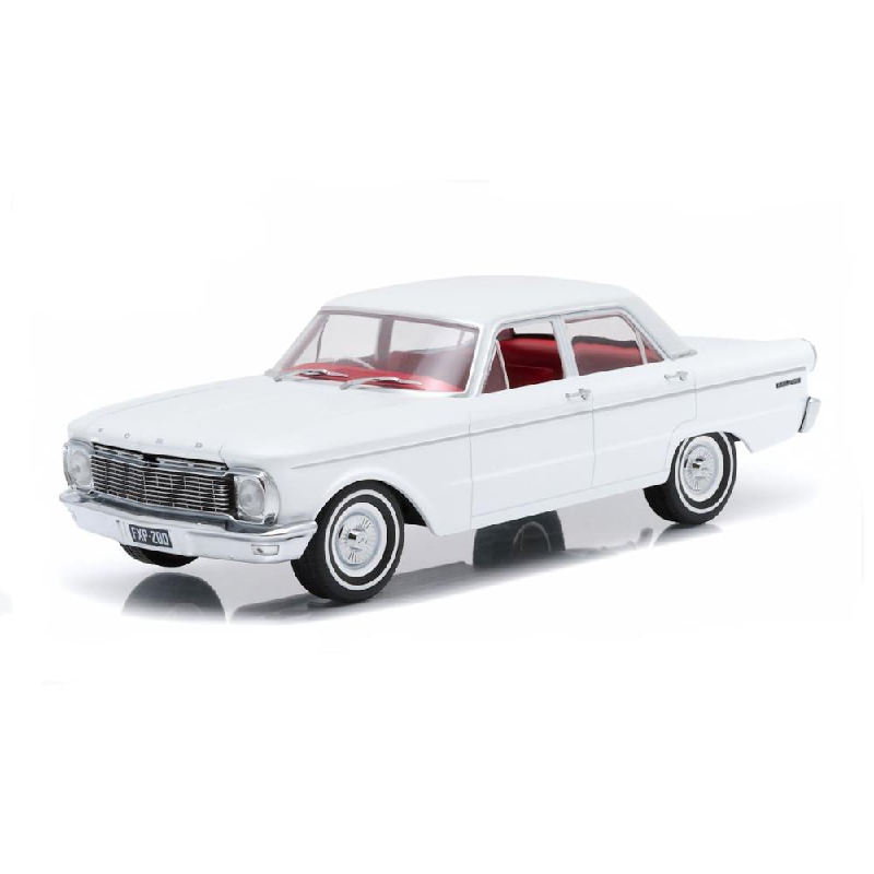 DDA  1/18 Scale Artisan Collection 1965 Ford XP Falcon in White Diecast Model