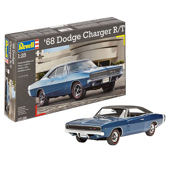 Revell (2 in 1) '68 Dodge Charger complete with paint