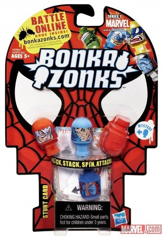 Bonkazonks 4 Pack Series 1