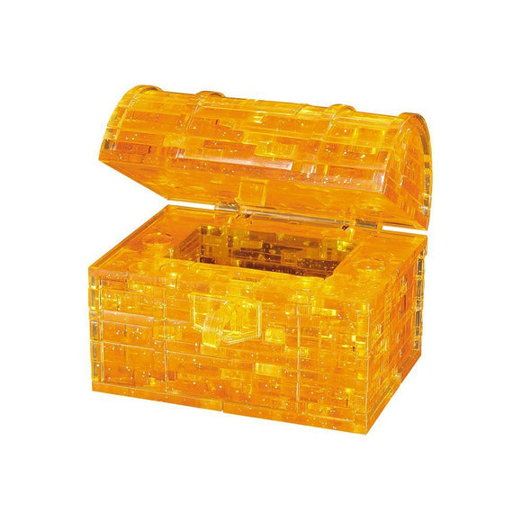 3D Golden Treasure Crystal Puzzle