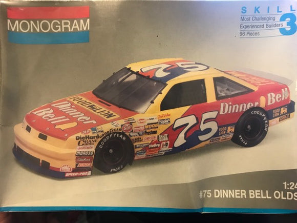 Monogram #75 Dinner Bell Olds Plastic Model Kit (Nascar Vintage)