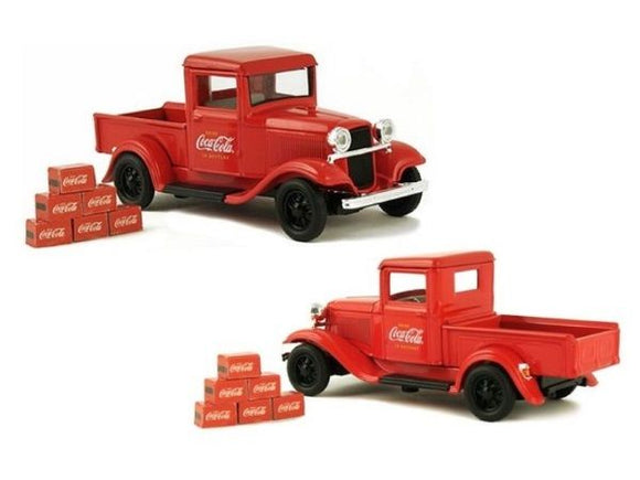 1934 Ford Model A Pickup with 6 Bottle Cartons Coca Cola