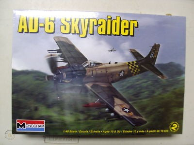 Revell 1/48 AD-6 Skyraider Plastic Model Kit