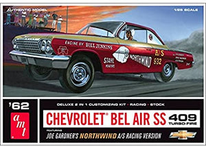 AMT 1/25 1962 Chevy Bel Air Super Stock Plastic Model Kit