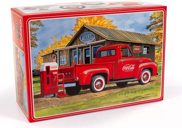 R2AMT1144 AMT 1953 Ford Pickup (Coca-Cola) 1:25 Scale Model Kit