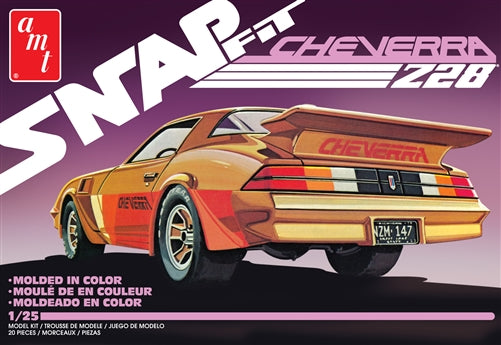 AMT1007 Cheverra Custom 1980 Camaro Z28 Snap Plastic Model Kit