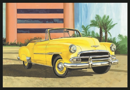 AMT1041 1951 Chevy Convertible 1:25 Scale Model Kit