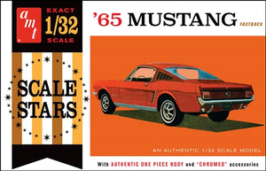 AMT1042 1965 Mustang Fastback Plastic Model Kit