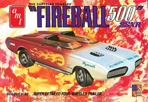 AMT 1/25 Fireball 500 Barris Kustom Show Car Plastic Model Kit (Vintage)