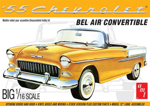 AMT 1/25 1955 Chevy Bel Air Convertible Plastic Model Kit