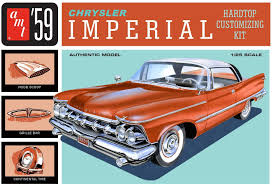 AMT 1/25 '59 Chrysler Imperial Hardtop Customizing Plastic Model Kit