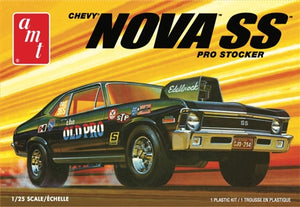"AMT1142 1972 Chevy Nova SS ""Old Pro"" Plastic Model Kit"