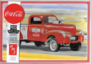 AMT 1/25 1940 Willys Gasser Coca-Cola Pickup Plastic Model Kit