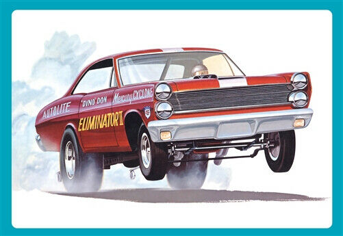 AMT 1/25 1967 Mercury Cyclone Eliminator II (Dyno Don Nicholson) Plastic Model Kit