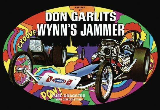 AMT 1/25 Don Garlits Wynns Jammer Dragster Plastic Model Kit