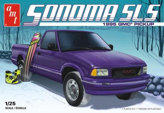 AMT 1/25 1995 GMC Sonoma Pickup 2T Plastic Model Kit