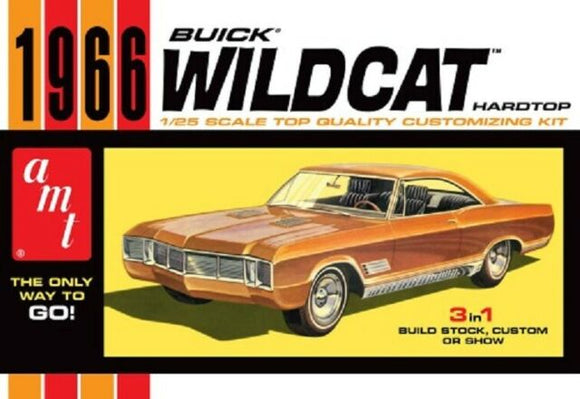 AMT 1/25 1966 Buick Wildcat Plastic Model Kit
