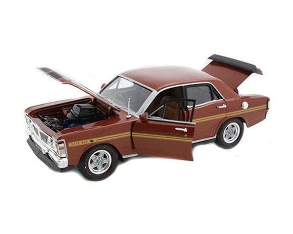 Diecast 1/32 Ford Falcon XY GT HO Bronze Wine