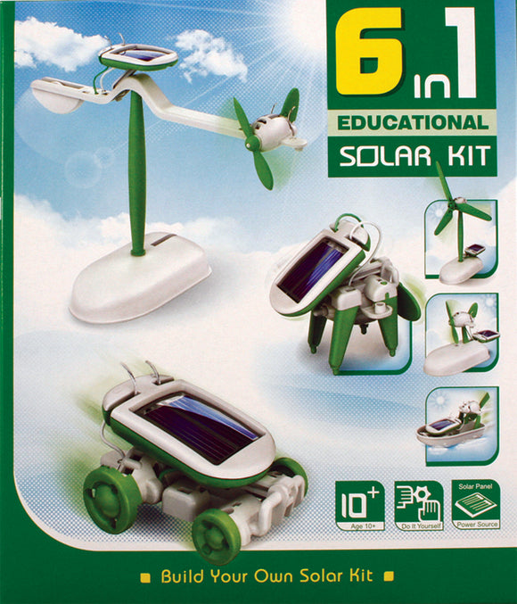 6 in 1: Build Your own Solar Kit