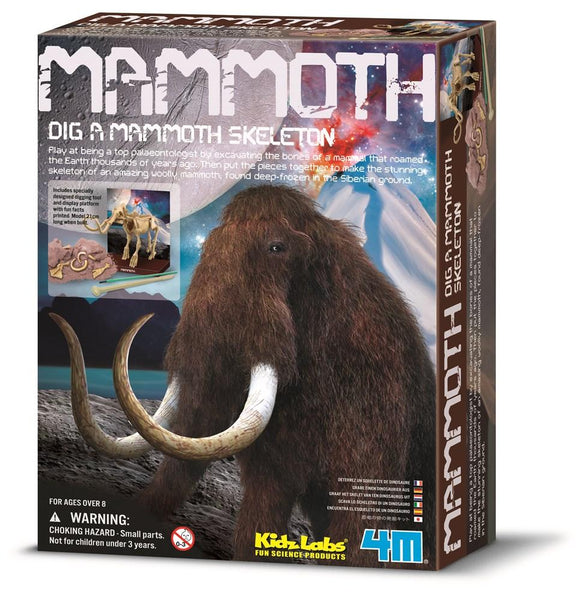 Mammoth Dig a Dino - 4M Kidz Labs