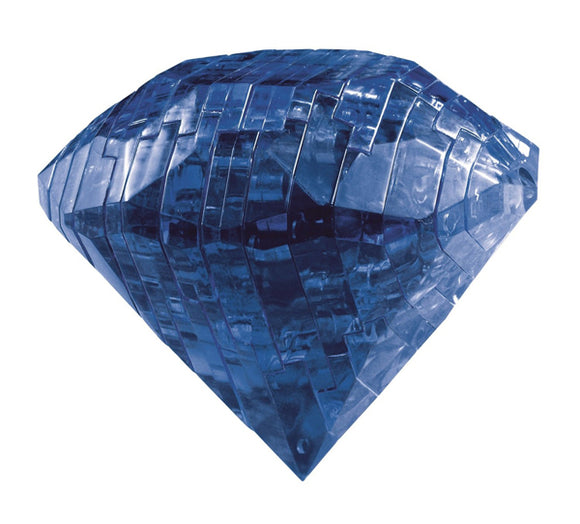 3D Sapphire Crystal Puzzle