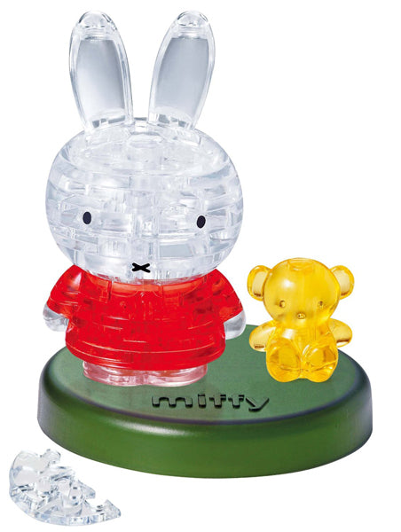 3D Miffy/Bear Crystal Puzzle