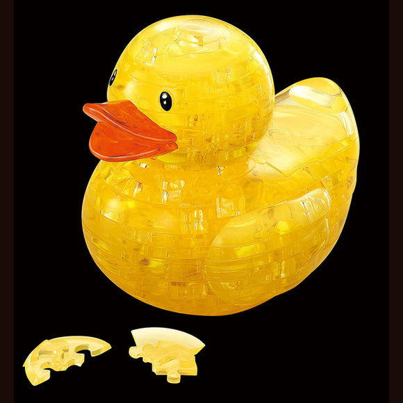 3D Rubber Duck Crystal Puzzle