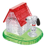3D Snoopy House Crystal Puzzle