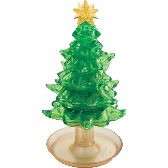 3D Green Tree Crystal Puzzle