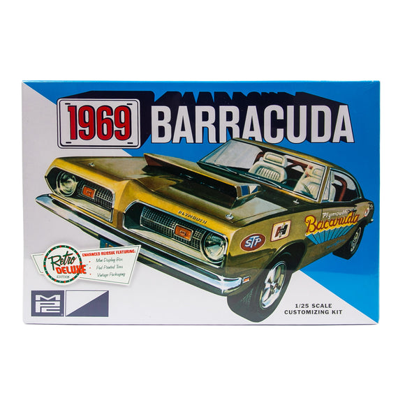 MPC832 1969 Plymouth Barracuda Plastic Model Kit