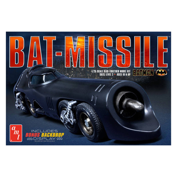 AMT952 1989 Batman Bat-missle Plastic Model Kit