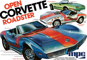 MPC842 1975 Chevy Corvette Convertible Plastic Model Kit