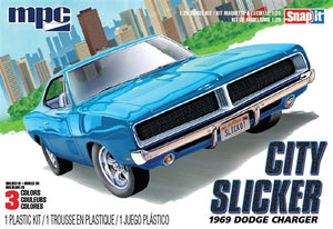 MPC879M 1969 Dodge Charger R/T City Slicker 1:25 Scale Snap Kit