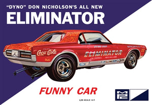MPC889 Dyno Don Cougar Eliminator Funny Car Plastic Model Kit