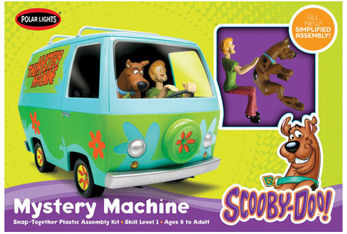 POL901 Scooby Doo Mystery Machine Plastic Snap Kit