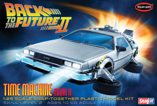 POL911 Back to the Future Time Machine Plastic Snap Kit