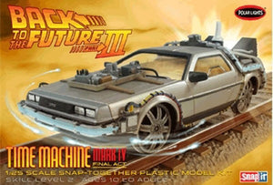 POL932 Back to the Future III Final Act Time Machine Snap Plastic Model Kit