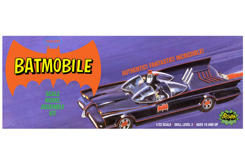 POL933 1/32 Classic Batmobile Plastic Model Kit