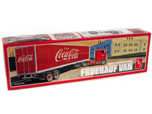 R2AMT1109 AMT Fruehauf Beaded Van Semi Trailer (Coca-Cola) 1:25 Scale Model Kit
