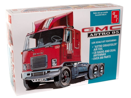 R2AMT1140 AMT GMC Astro 95 Semi Tractor 1:25 Scale Model Kit