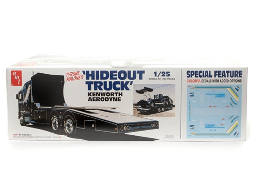 R2AMT1158 AMT Hideout Transporter Kenworth (Tyrone Malone) 1:25 Scale Model Kit