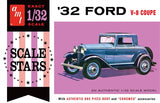 R2AMT1181 AMT 1932 Ford Scale Stars 1:32 Scale Model Kit