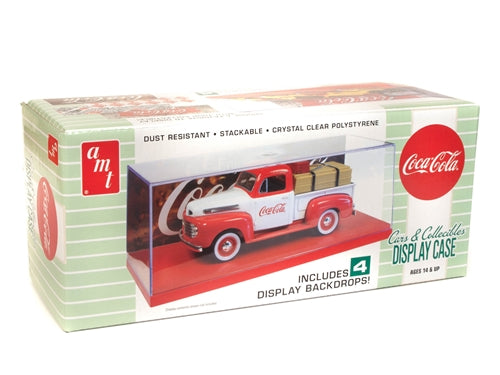 R2AMT1199 AMT Cars & Collectibles Display Case (Coca-Cola) 1:25 Scale Model Kit