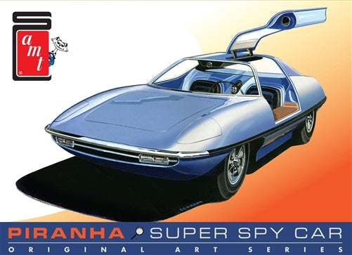 R2AMT916 AMT Piranha Spy Car - Original Art Series 1:25 Scale Model Kit